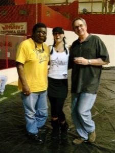 Me, Dementia & David Norton, the director of my TV PSA.